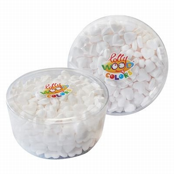 Lollywood Colors Dextrose Hartjes Wit Tubo 850 gram