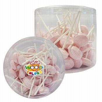 Lollywood Colors Dextrose Lollies Roze 500gr (+-50 lollies)