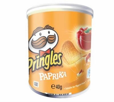 Pringles Pocket Paprika 40 gram