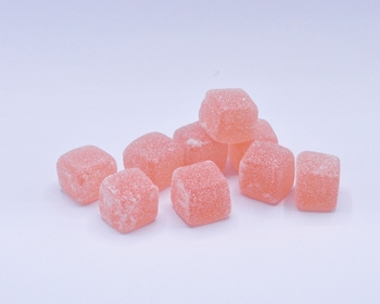 Jelly Cubes roos (1 kg)