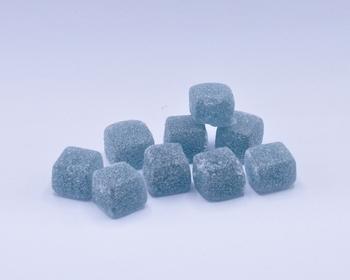 Jelly Cubes Blauw/groen (1 kg)